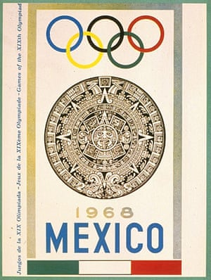 Century Olympic posters: 1968 Mexico Olympic Games
