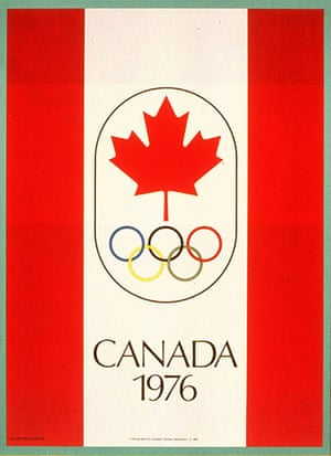 Century Olympic posters: 1976 Montreal Olympic Games