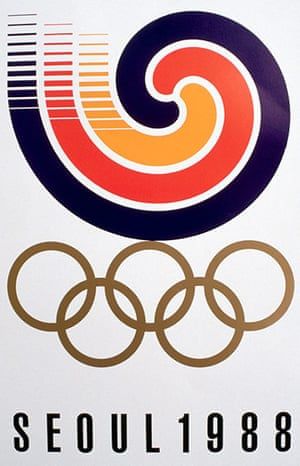 Century Olympic posters: 1988 Seoul Olympics games