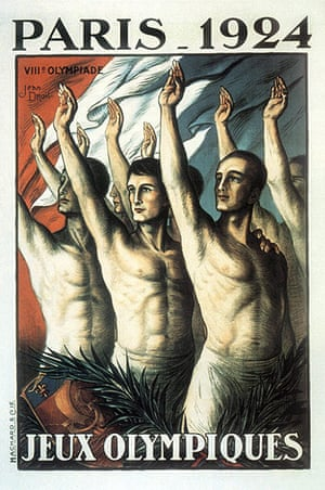Century Olympic posters: 1924 Paris Olympic Games