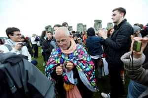 Summer solstice: Revellers gather to celebrate the summer solstice