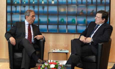 Jose Manuel Barroso, Amr Mahmoud Moussa