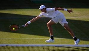 sport: Wimbledon tennis