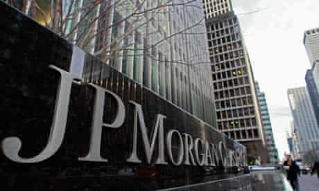JP Morgan Chase building sign