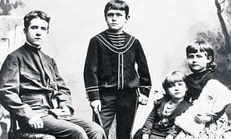 Heinrich and Thomas Mann with their sisters