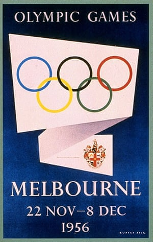 Olympic posters: 1956 Melbourne Olympic Games