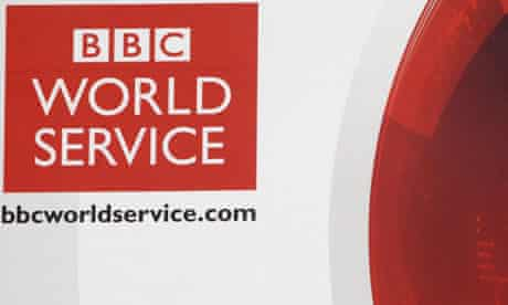 An article about Hague's rethink on World Service funding was headlined  'Massive U-turn'