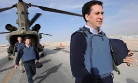 Ed Miliband tough