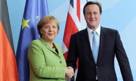 Merkel David Cameron