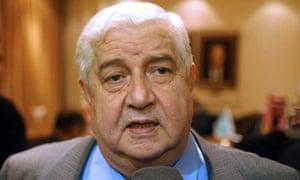 Syria Walid al-Moallem