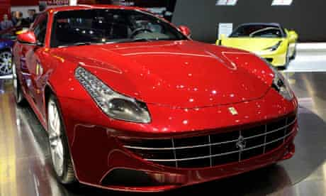 Ferrari's new FF car