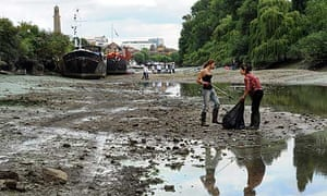 Thames clean up