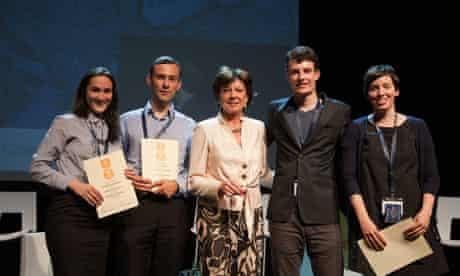 Jonathan Gray shows Open Data winners