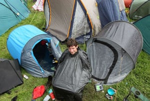 Glastonbury Day 2: Bin Liner