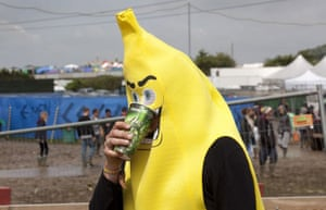 Glastonbury day 2: Banana man
