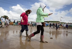 Glastonbury day 2: girls