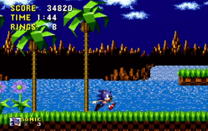 Image result for Sonic the Hedgehog first game