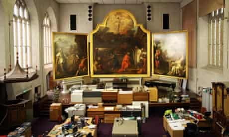 Hogarth altarpiece in Bristol