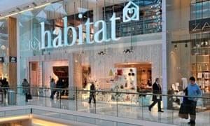 Habitat store in the Westfield