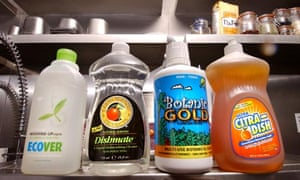 washing-up liquids