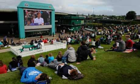 Wimbledon tennis murray mount