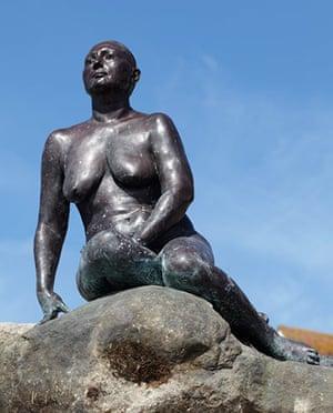 Folkestone Triennial: Mermaid by Cornelia Parker