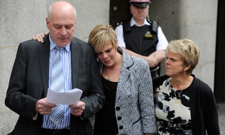 The family of Milly Dowler make a statement to the media