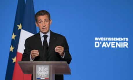 Nicolas Sarkozy announces the investment in nuclear power
