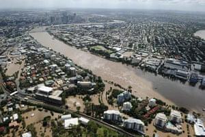 2010 Extreme Weather: Flood in Brisbane