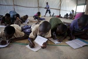 Ivory coast refugees: Bahn Refugee Camp, Liberia