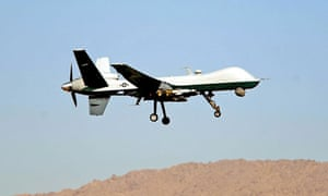 US drone over Afghanistan