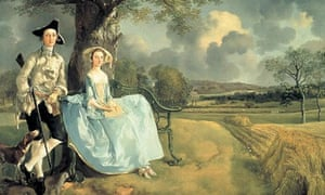 Thomas Gainsborough's Mr and Mrs Andrews