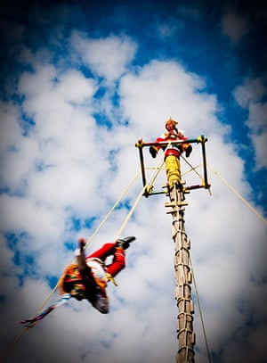 been there june: Danza del Volador, Mexico