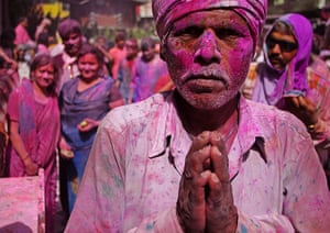 been there june: Holi festival