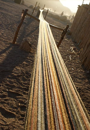 been there june: Weaving, Egypt