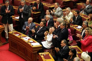 Greek strike day 2: Greek parliament vote new fiscal policy framework