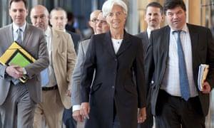 Christine Lagarde announces IMF candidacy