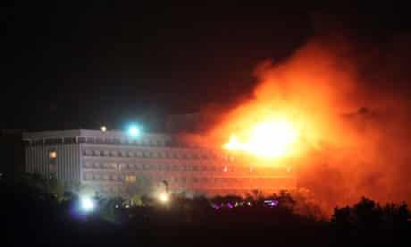 The Kabul Intercontinental hotel