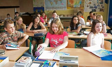 Schoolchildren in Germany
