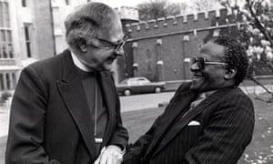 Robert Runcie and Desmond Tutu