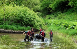 Week in wildlife: Fish rescued from River Lathkill
