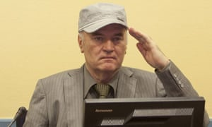 Ratko Mladic makes his first appearance at the international criminal tribunal at the Hague