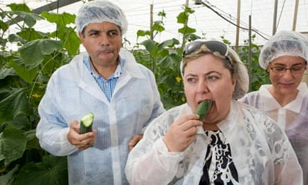 E coli outbreak: Spaniards demonstrate that eating their cucumbers is safe