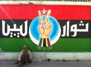 Gaddafi street art: Pro-democracy street art