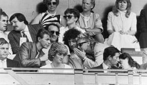 fancy meeting you here: Bob Geldof, Prince Charles, David Bowie, Roger Taylor and Brian May