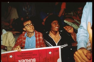 fancy meeting you here: Woody Allen and Michael Jackson