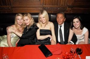 fancy meeting you here 2: Claire Danes, Madonna, Gwyneth Paltrow, Valentino Garavani