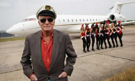 Hugh Hefner of Playboy