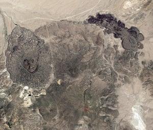 Satelitte Eye on Earth: The Aurora-Bodie volcanic field in Nevada