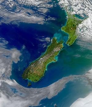 Satelitte Eye on Earth: Cook Strait